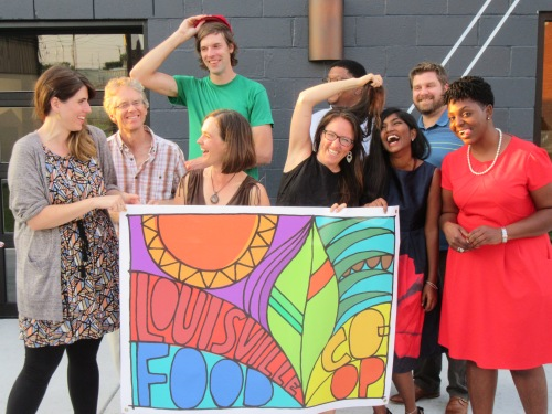 photo of enthusiasts of Louisville Food Coop